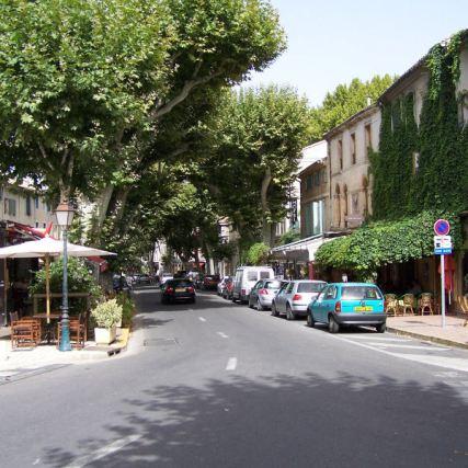 Entrada a Saint Rémy