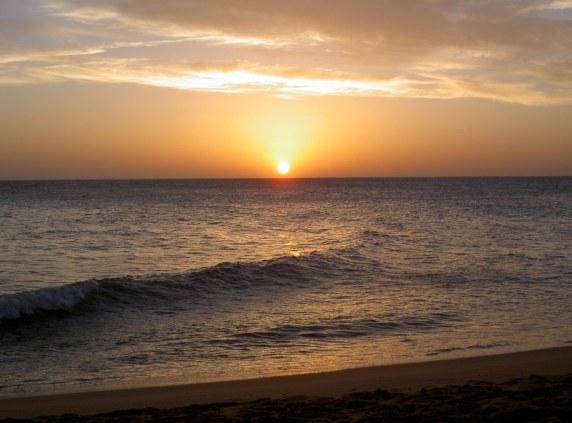 Puesta de sol Trafalgar